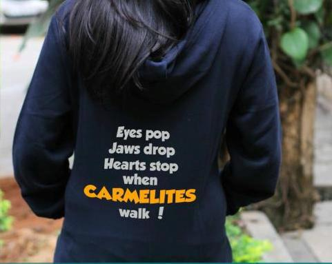 thts my college # we are carmelites