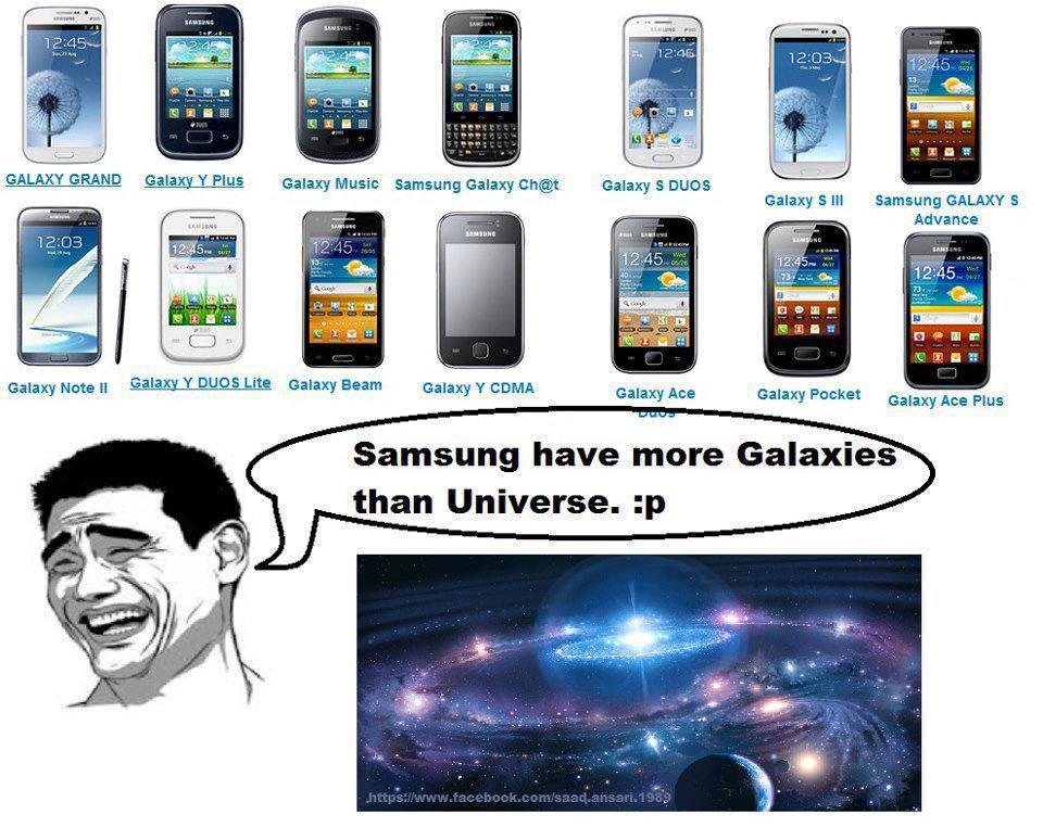 samsung has more galaxies :P